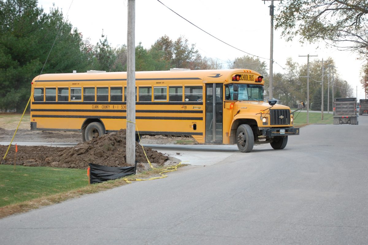bus on new road 2