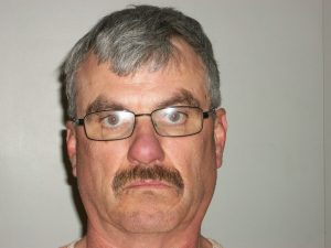 """Mug Shot of retired SLMPD officer Glenn Head, 58, of rural Novelty after being taken into custody and booked into the Adair County Jail after the death of William """"Bill"""" Bacon. He is charged with murder in the second degree and armed criminal action."""
