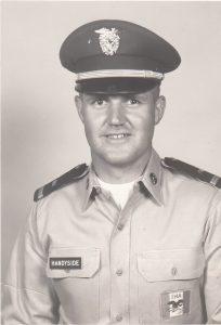 Richard Handyside Military