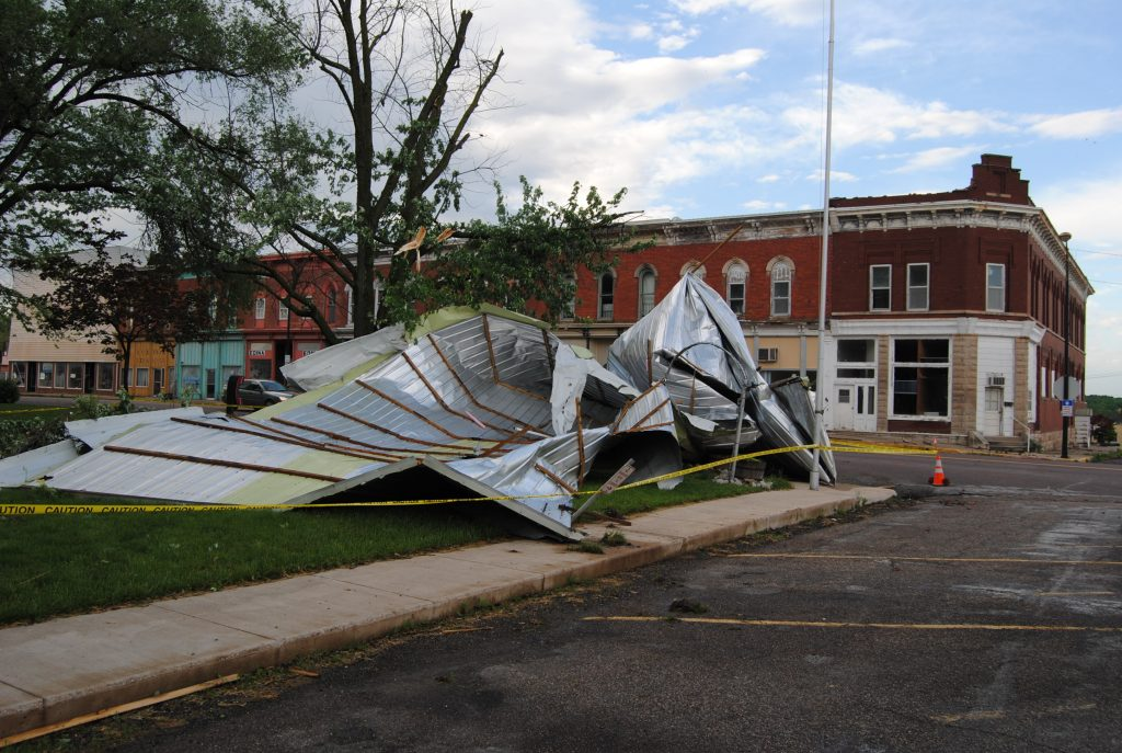 Roof Blown Off