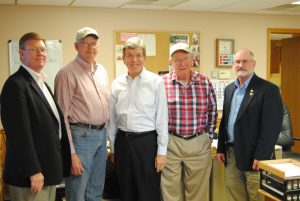 Politicians visit Cardwell Lumber in Knox County