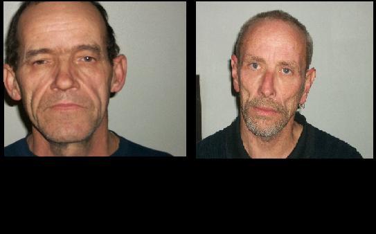 Left: Sidney L. Hettinger Right: Larry E. Hubbard