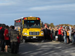 Bus Leaving for Springfield