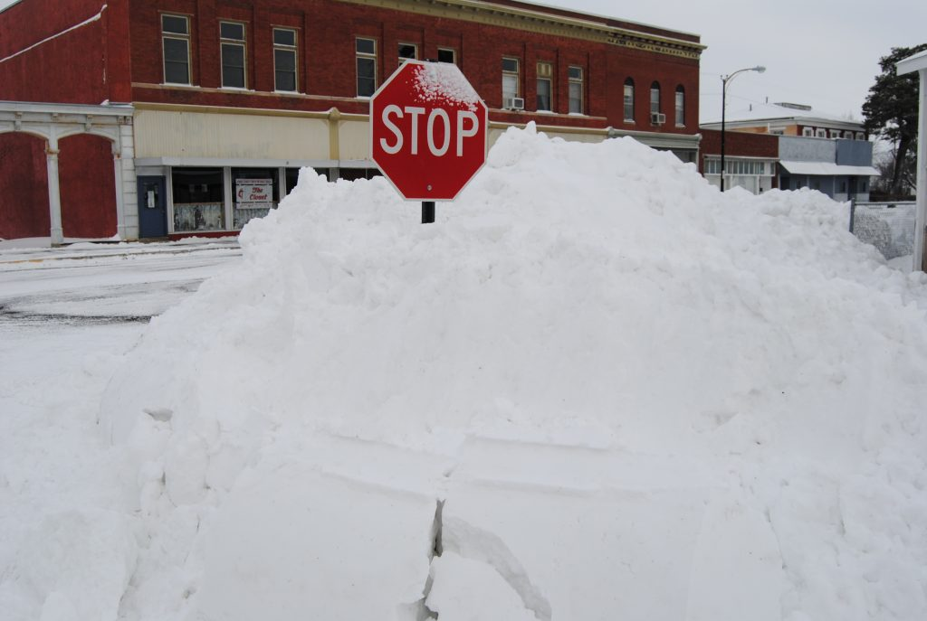 The northeast corner of Monticello and Main Streets in Edina Friday, Feb. 22, 2013.
