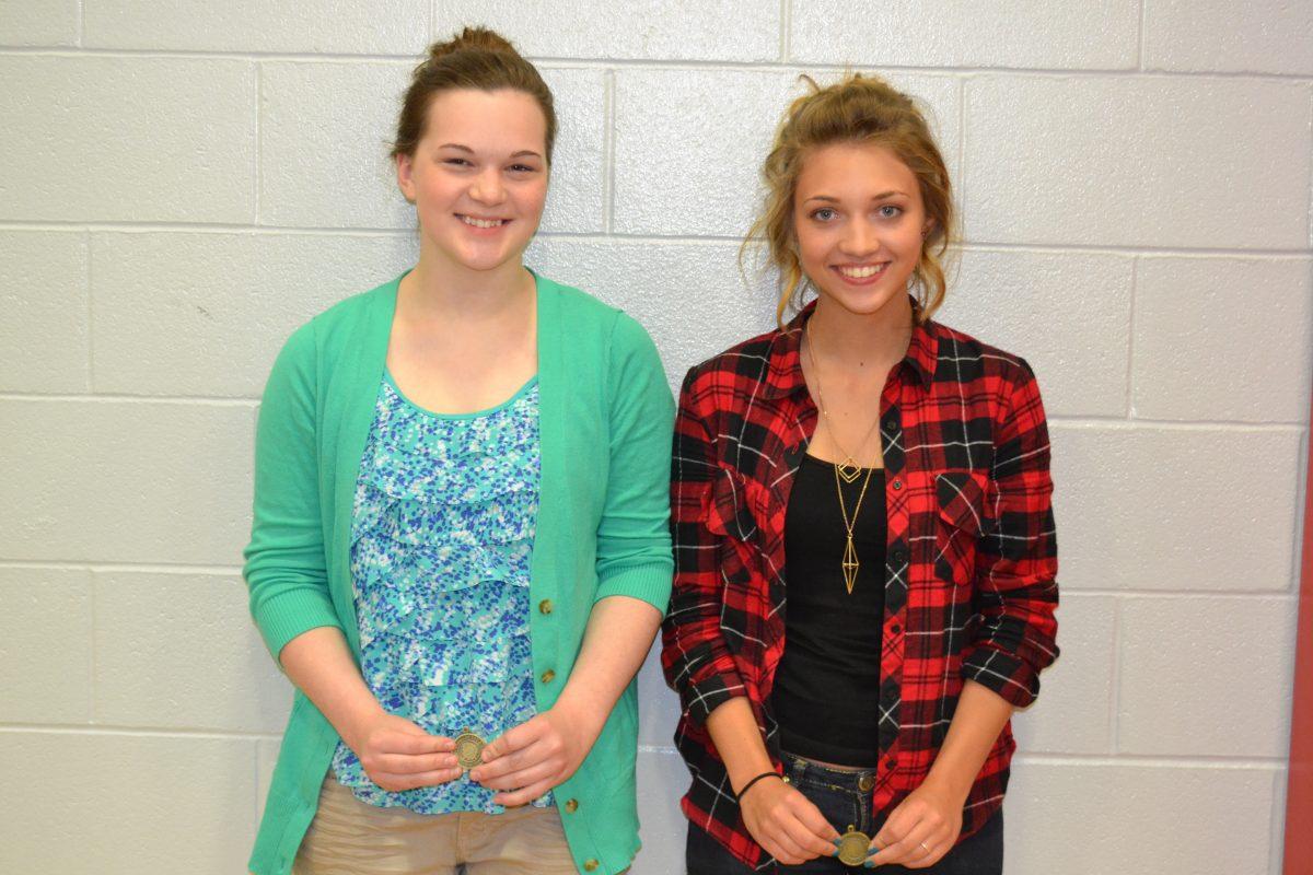 Art Awards-Adrianna Riney and Bethany Boyd