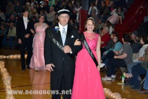 2015 PROM KING AND QUEEN MICHAEL ENGER AND SARAH ST. CLAIR