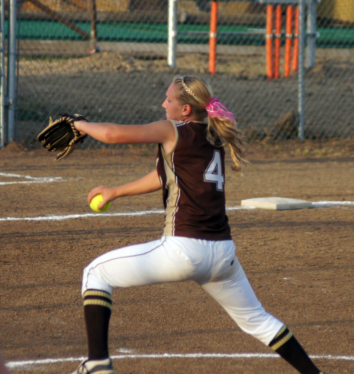 Avery Johnson hits 3 run HR, hurls 2 hitter in 15-1 home win over Knox Co.
