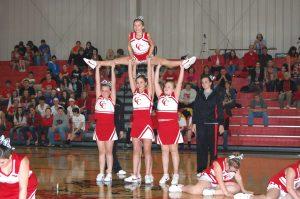 Jr Indian cheerleaders