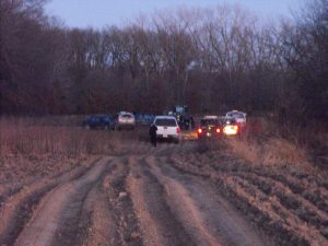 Sentinle File Photo -Law enforcement officials have gathered in southwest Knox County, southwest of Novelty off County Road 312, at what is believed to be the scene of a shooting involving two Knox County men.