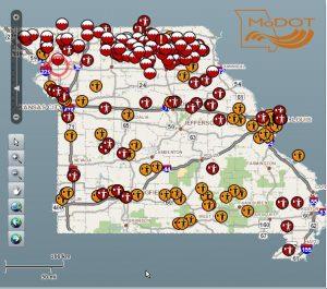 MoDOT Traveler Information Map 9-10-14 1430 hrs