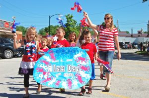 Kahoka held its annual Flag Day parade and celebration on Friday, June 13.