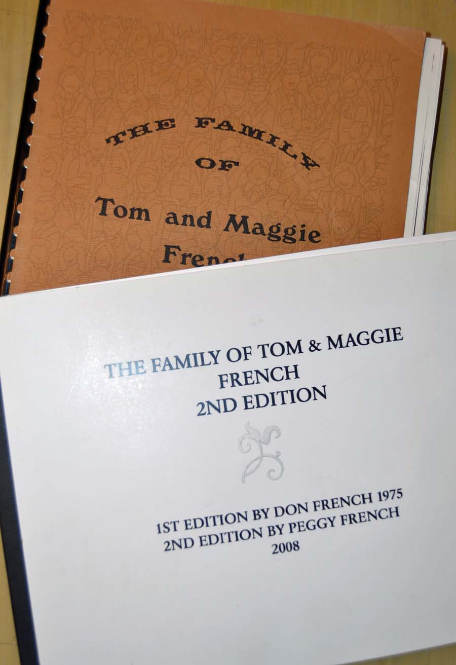 These history books detail the French family history and stories, and were a major source of information for this story.